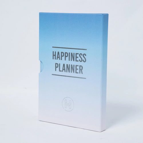 The 100 Day Planner - Blue and White - Journals - Spiffy