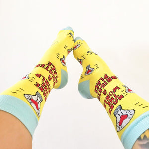 Brighter Place Socks by Angela Chick - Spiffy