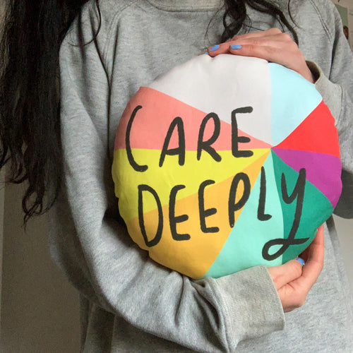 Care Deeply Plushie Cushion
