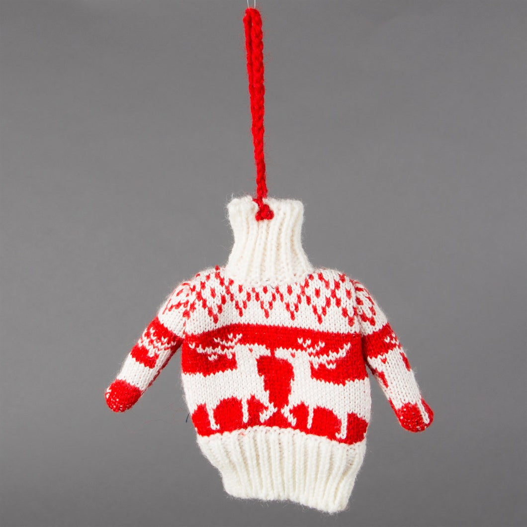 Christmas Jumper Hanging Decoration - Christmas Hanging Decorations - Tree - Spiffy