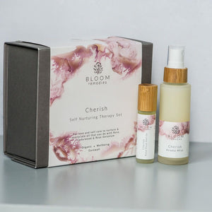 Cherish Happiness Therapy Set - Essential Oil Blends - Spiffy