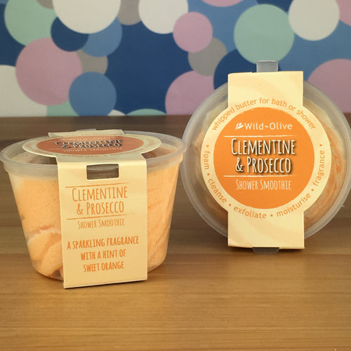 Clementine & Prosecco Shower Smoothie by Wild Olive - Shower Smoothies - Spiffy
