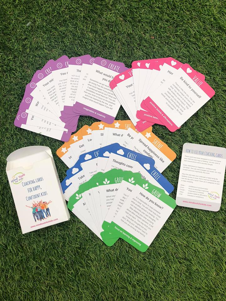 Coaching Cards for Happy, Confident Kids - Children's Activity Books - Spiffy