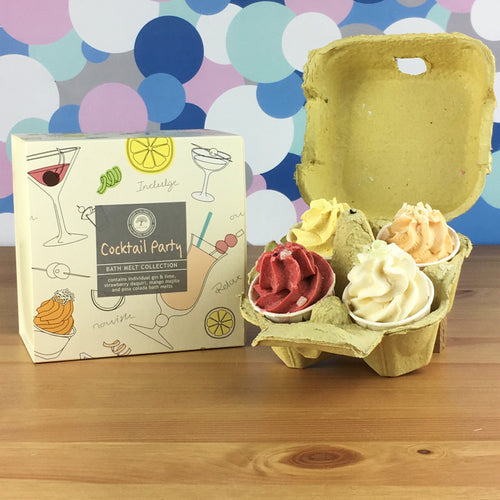 Cocktail Party Luxury Bath Melt Gift Set by Wild Olive - Bath Melts - Spiffy
