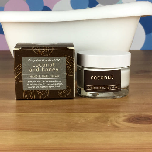 Coconut & Honey Hand and Nail Cream by Wild Olive - Hand Cream - Spiffy