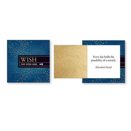 Pop Open Message Cards - Wish