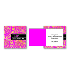 Pop Open Message Cards - Hope