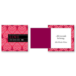 Pop Open Message Cards - Love - Inspirational Message Sets - Spiffy
