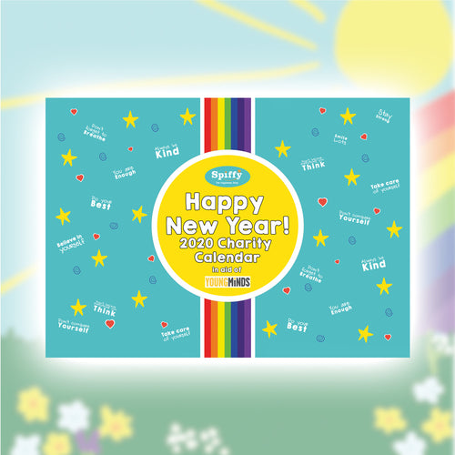 Happy New Year 2020 A5 Desktop Calendar