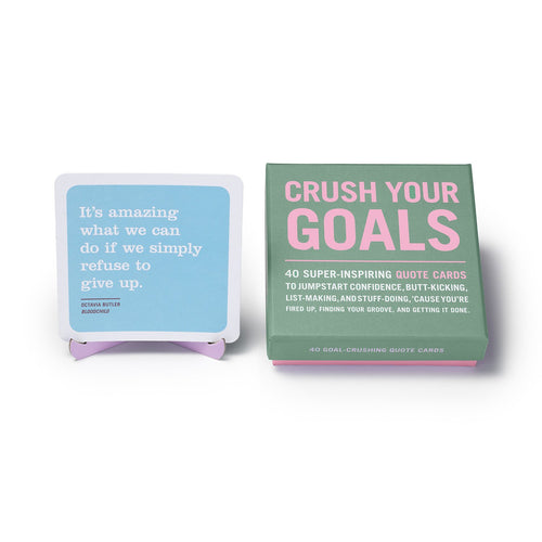 Crush Your Goals Inner Truth Deck - Inspirational Message Sets - Spiffy