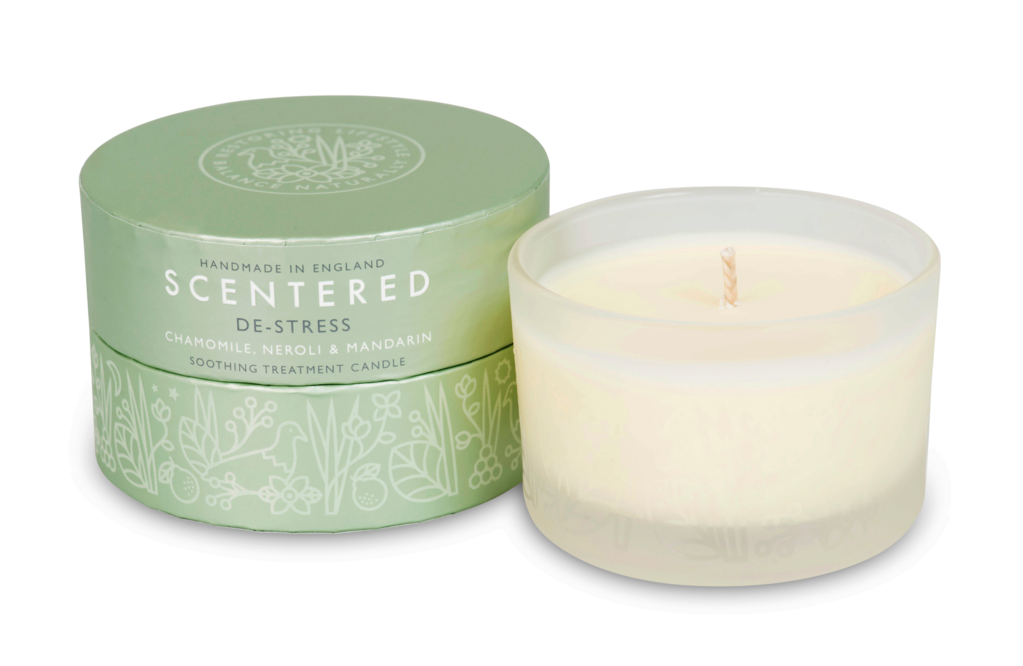 Scentered 'De-Stress' Therapy Candle - Spiffy