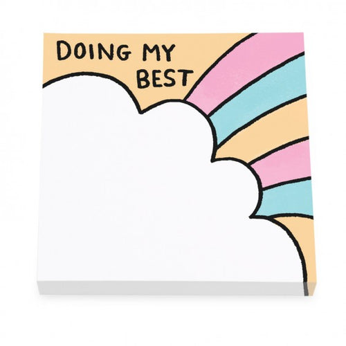 Doing My Best Sticky Notes by Gemma Correll