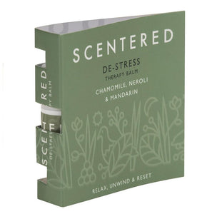 Scentered De-Stress Mini Therapy Balm - 1.5g in Booklet - Spiffy
