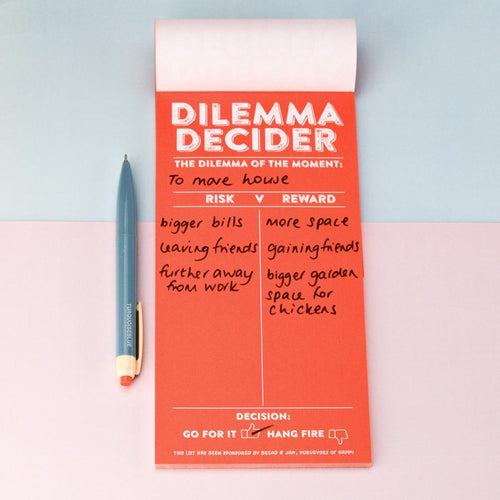 Dilemma Decider Notepad - Notepads - Spiffy