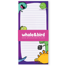 Dino Notepad by Katie Abey