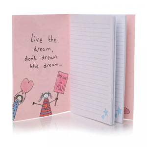 Dreams Do Come True Notebook - Notebooks - Spiffy