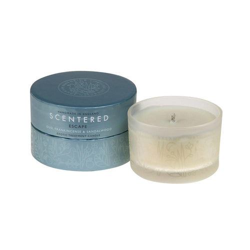 Scentered 'Escape' Therapy Candle - Aromatherapy Candles - Spiffy