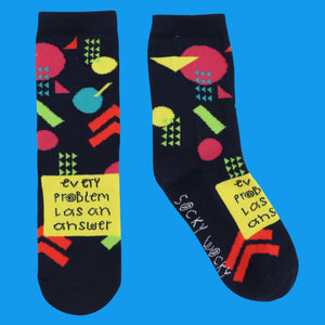 Every Problem Has An Answer - Children's Socks