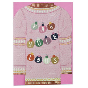 """Fab-yule-lous"" Christmas Card - Spiffy"