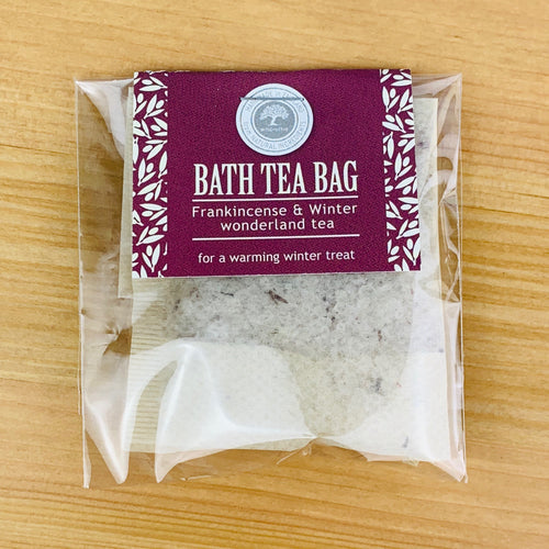 Frankincense and Winter Wonderland Christmas Bath Tea Bag
