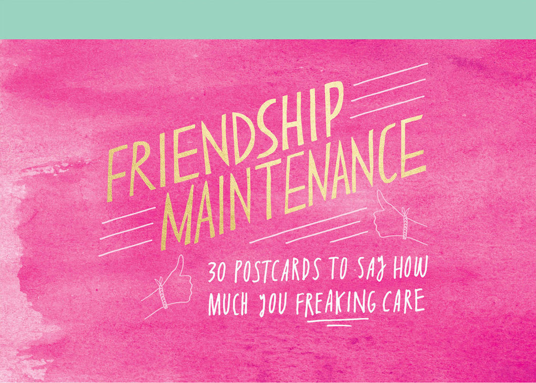 Friendship Maintenance Postcard Pack - Postcard Packs - Spiffy