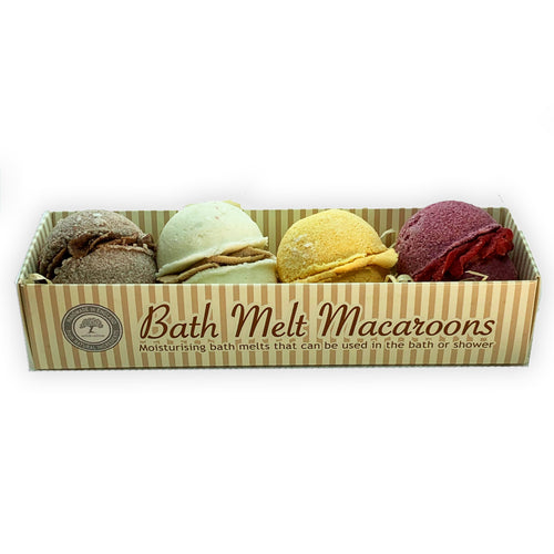 Fruit Chocolate Macaroons Bath Melt Collection - Bath Melts - Spiffy