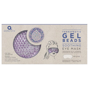 Therapeutic Gel Beads Eye Mask - Lavender - Remedies - Spiffy