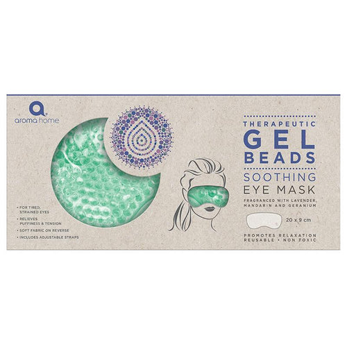 Therapeutic Gel Beads Eye Mask - Sea Foam - Spiffy