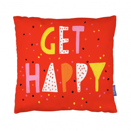 Get Happy Cushion - Happy Cushions - Spiffy