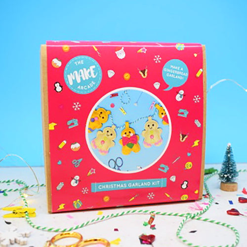 Gingerbread Party Felt Garland Sewing Kit