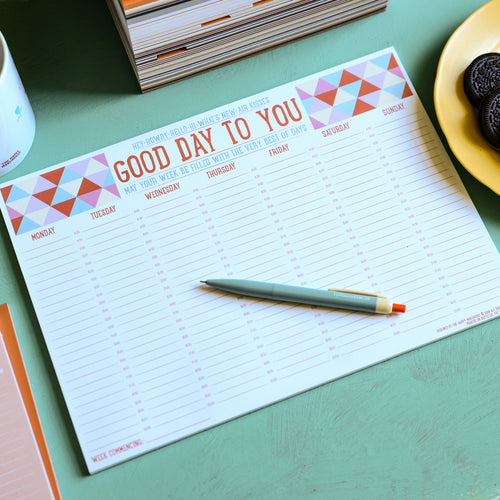 Good Day to You Weekly Planner - Planners - Spiffy