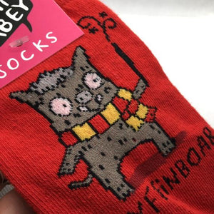 Gryffinboar Harry Potter Inspired Socks by Katie Abey