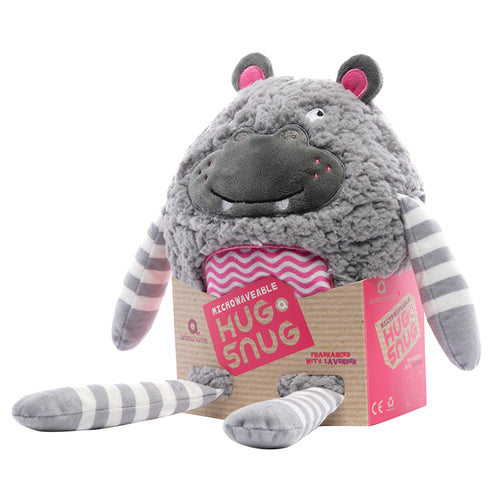 Hippo - Microwavable Hug a Snug Hottie - Spiffy