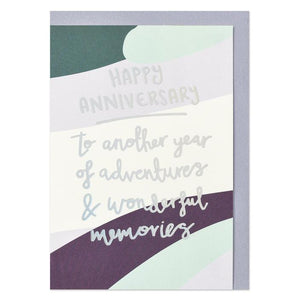"""Happy Anniversary"" Card - Cards - Happy Anniversary - Spiffy"