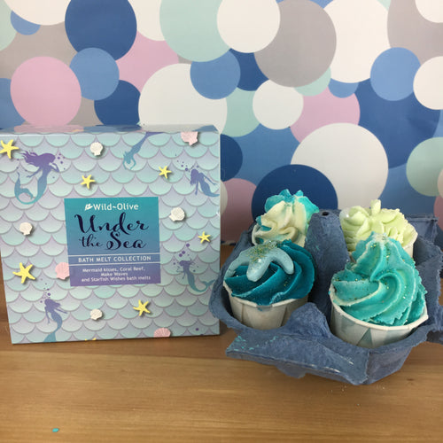 Under the Sea Luxury Bath Melt Gift Collection - Spiffy