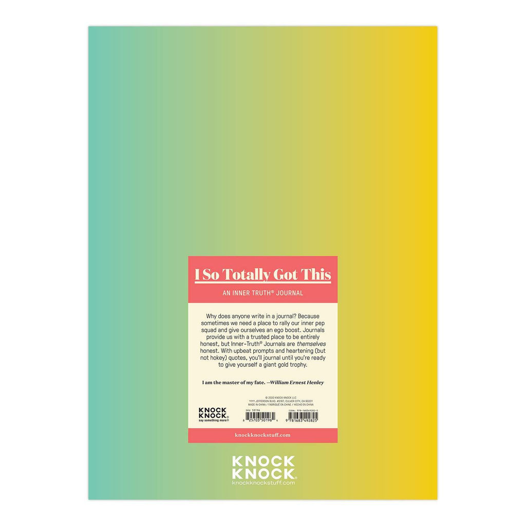 I So Totally Got This Inner-Truth Journal (Ombre Edition) - Spiffy