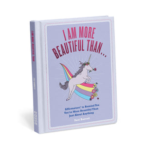 I'm More Beautiful Than...Affirmation Book - Inspirational Message Sets - Spiffy
