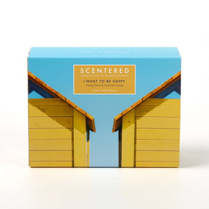 Scentered 'I Want to Be Happy' Gift Set - Be Happy Therapy Balm and Candle - Spiffy