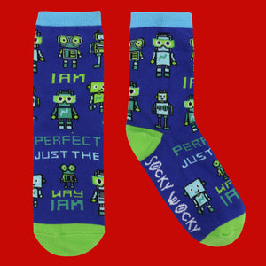I Am Perfect The Way I Am - Children's Socks