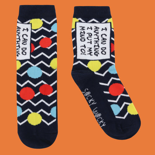 I Can Do Anything - Childrens Socks