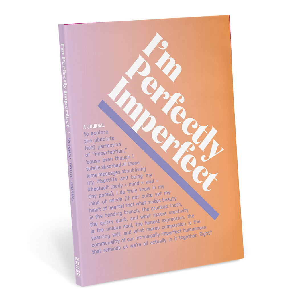I'm Perfectly Imperfect Inner-Truth Journal (Ombre Edition)