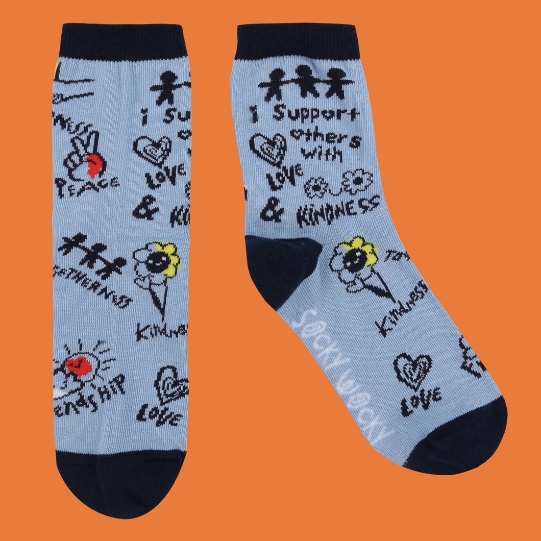 I Support Others - Children's Socks - Children's Socks - Spiffy