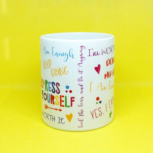 Motivational Quotes Self-Care Mug