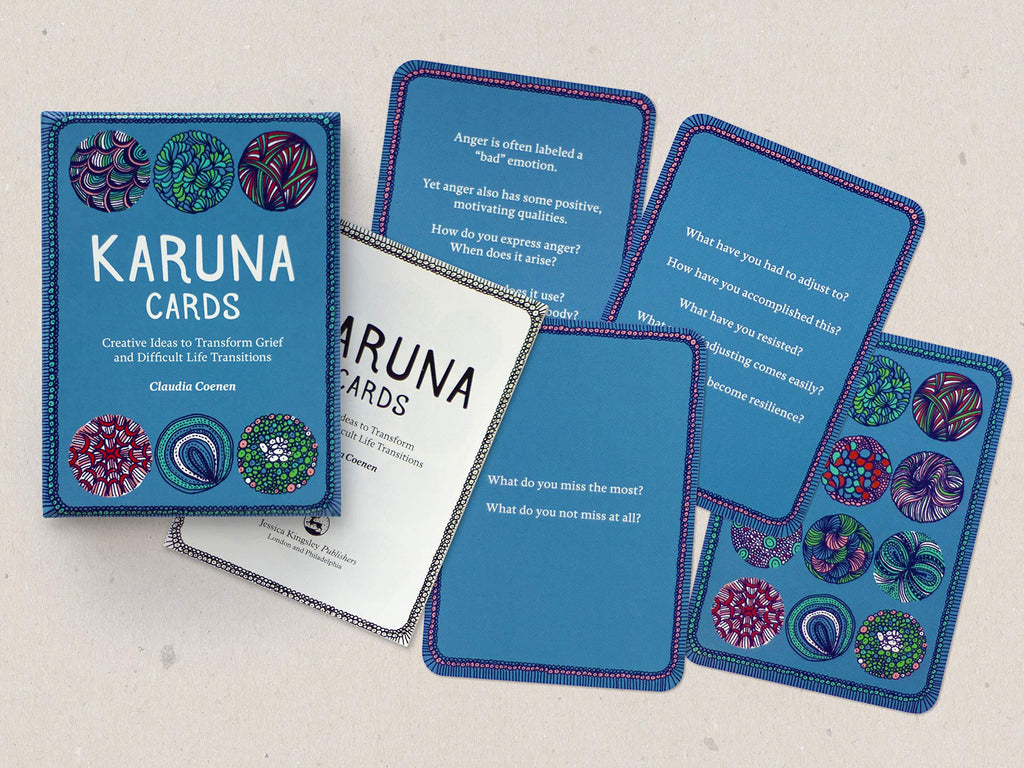 Karuna Cards: Creative ideas to transform grief and difficult life transitions - Spiffy