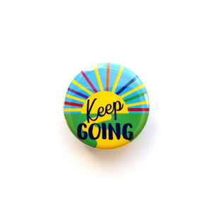 Keep Going Button Badge