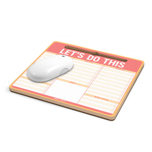 Let's Do This Mouse/Note Pad - Spiffy