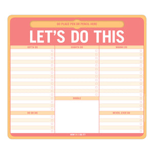 Let's Do This Mouse/Note Pad - Notepads - Spiffy