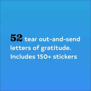 Letters for a Year of Gratitude - Inspirational Message Sets - Spiffy