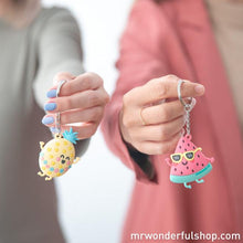 Set of 2 Keyrings - Life's a Party When I'm With You - Keyrings - Spiffy