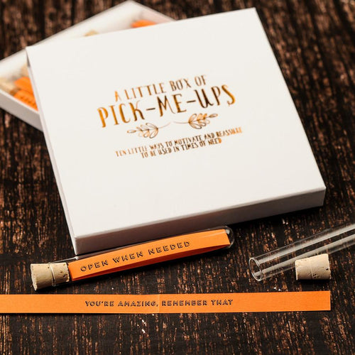 Little Box of Pick-me-ups Motivational Messages - Spiffy